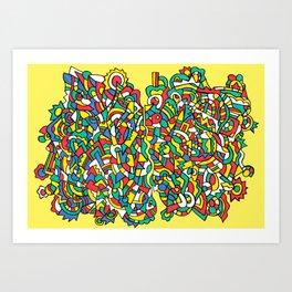 Inconsistency Art Print