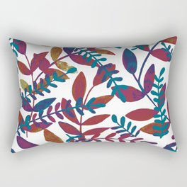Watercolor branches - multicolor Rectangular Pillow