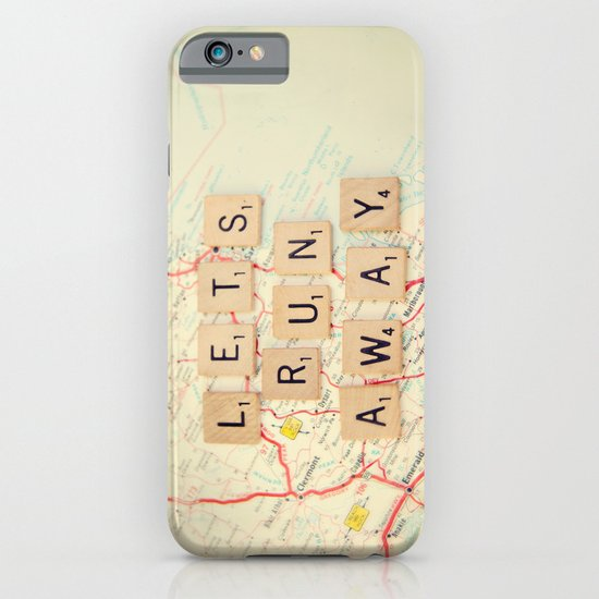 let's run away iPhone & iPod Case