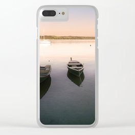 Ammersee Lake Landscape Clear iPhone Case