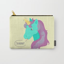 Hornycorn Carry-All Pouch