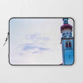 Church in the Alps Laptop Sleeve