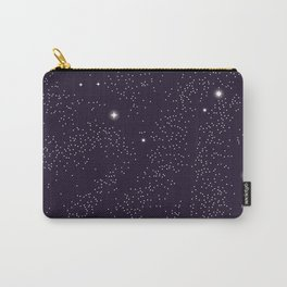Universe with planets and stars seamless pattern, cosmos starry night sky 005 Carry-All Pouch