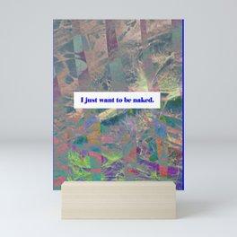 Full stop Friday Mini Art Print