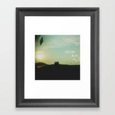 DruM Bun Framed Art Print