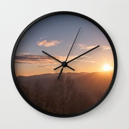 North Georgia Mountains 6 Wall Clock