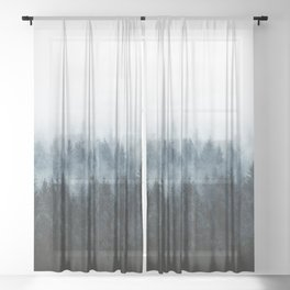High And Low Sheer Curtain