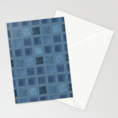 Beautiful blue tiles . Stationery Cards