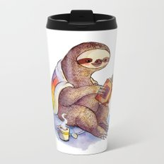 Sloth Metal Travel Mug