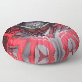 The Demon Hunter Floor Pillow