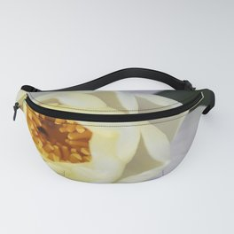 White Lilly 2 Fanny Pack