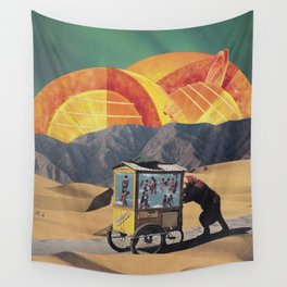 Two Suns Wall Tapestry