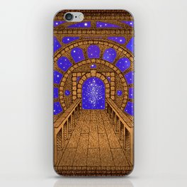 orvio illuminated space mandala iPhone Skin