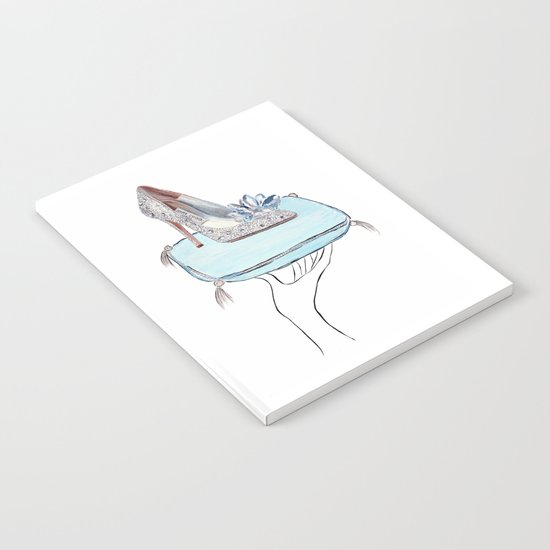 Cinderella slipper Notebook