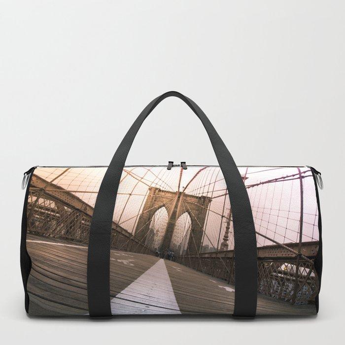 Brooklyn Bridge, New York City Duffle Bag
