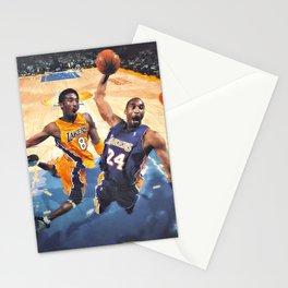 K.B King of  Basketball Art Print05 Stationery Cards