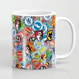 Premier League stickerbombing Coffee Mug
