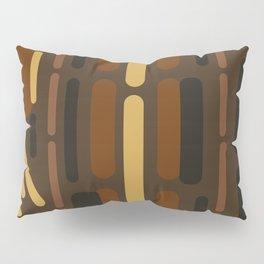 Oblong Chocolate Pillow Sham