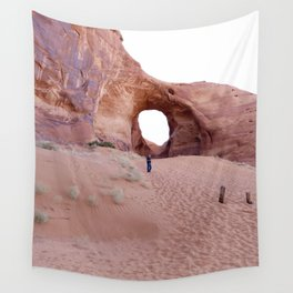 The Ear, the Backcountry, the Sand, and my Dad Wall Tapestry