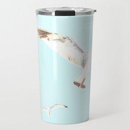 Seagulls Flying Travel Mug