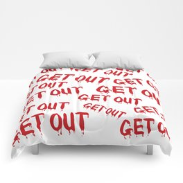 Get Out Horror House Comforters
