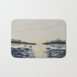 Boats & Sky Bath Mat