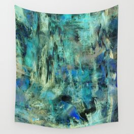 Ice Emerald Bog Wall Tapestry