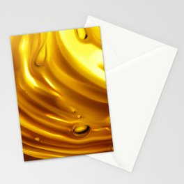 Amber Ripples 2 Stationery Cards