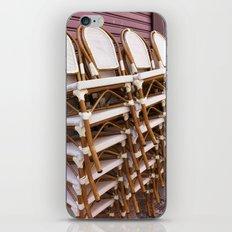 Paris Café Chairs iPhone & iPod Skin
