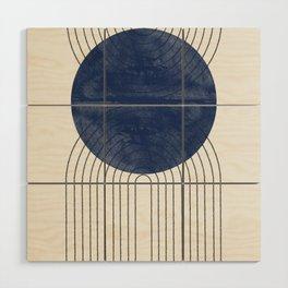Blue Perfect Balance Wood Wall Art
