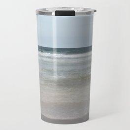 Sea shallows at Hayle, Cornwall Travel Mug