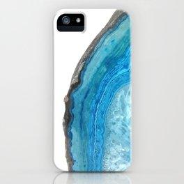 Blue Agate iPhone Case
