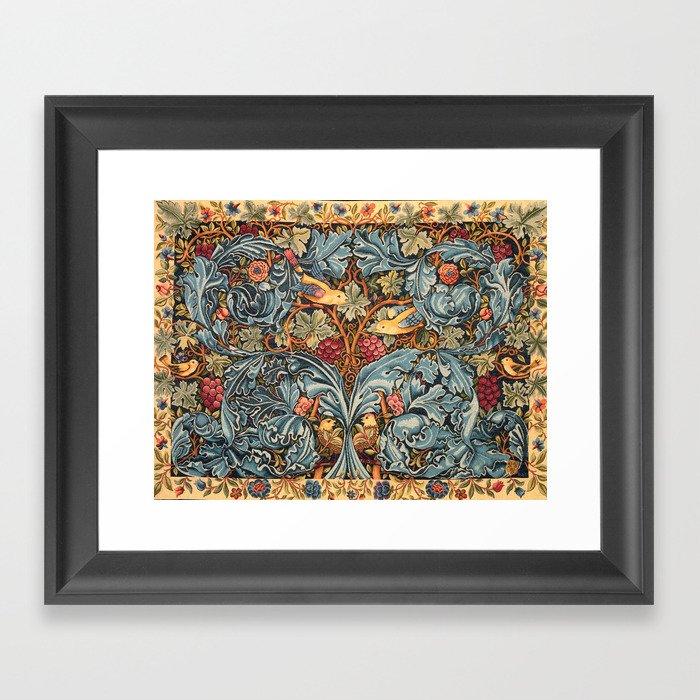 """William Morris """"Acanthus and vine"""" 2. Gerahmter Kunstdruck"""