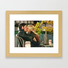 You Traded Your Ship for Me? Framed Art Print