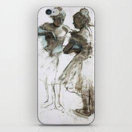 Two Dancers by Edgar Degas, 1873 iPhone Skin
