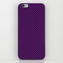 Winterberry and Black Polka Dots iPhone Skin