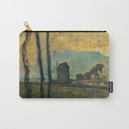 Landscape At Valery Sur Somme By Edgar Degas | Reproduction | Famous French Painter Carry-All Pouch