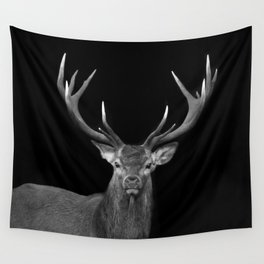 Red deer stag Wall Tapestry