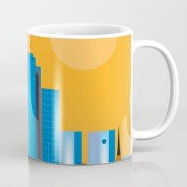 Frankfurt, Germany - Skyline Illustration by Loose Petals Coffee Mug