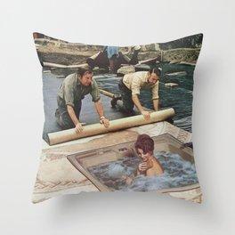 Modesty Throw Pillow