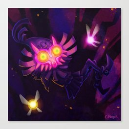 Terrible Fate Canvas Print