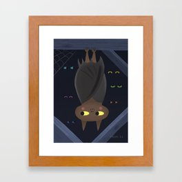 Benton Bat  Framed Art Print