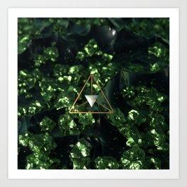 Tereahedron Art Print