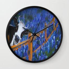 Spring has Sprung Wall Clock
