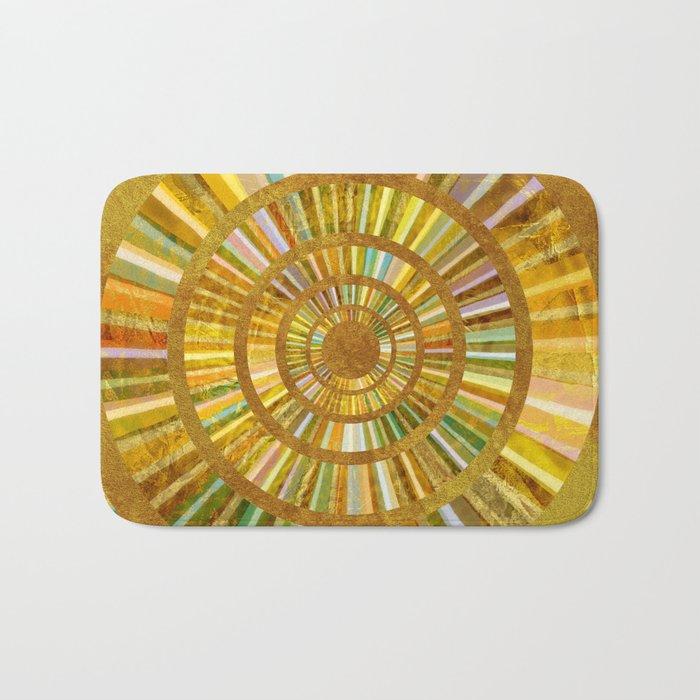 Sun Mandala 6 Bath Mat