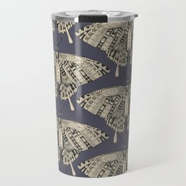 swallowtail butterfly dusk black Travel Mug