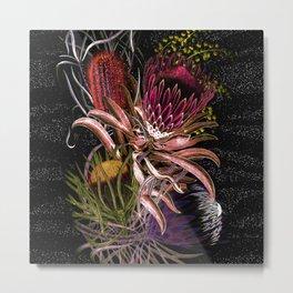 Australian Native Flora Metal Print