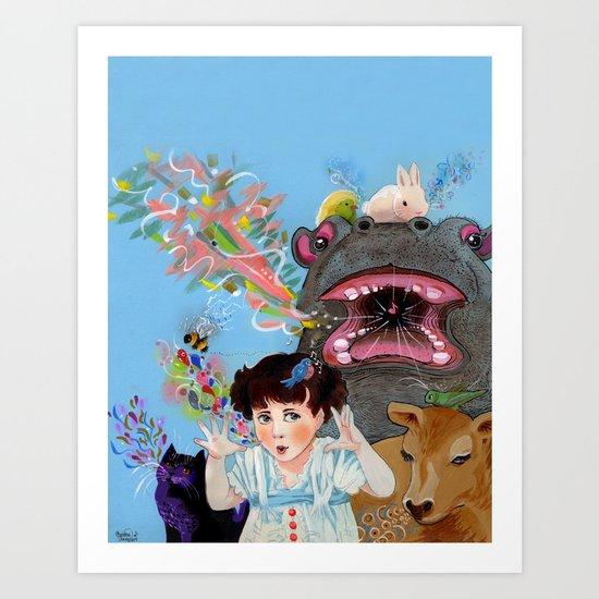 Many Voices Art Print