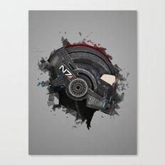 Beloved Helmet Canvas Print