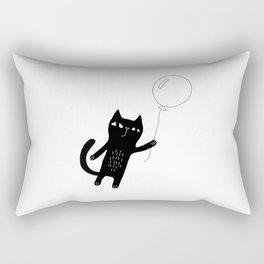 Flying Cat Rectangular Pillow